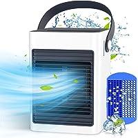 Mobile Klimageräte, KOXXBASE Mini Klimaanlage, USB Luftkühler Verdunstungskühler mit Tragbarem Griff, Persönliche…