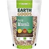 Earth Goods Organic Gluten-Free Berry Muesli, NON-GMO; Gluten-Free;Vegan 340g