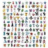 144 stks/zak Grappige 2-4 cm Pokemon Action Figure Speelgoed Mini Cijfers Model Speelgoed Pikachu Anime Pop Verjaardagscadeau