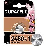 Duracell CR2016/DL/CR2450 Batteria Bottone Litio 3V, Progettate per l'Uso su Chiavi con Sensore Magnetico, Bilance, Elementi