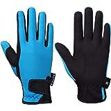 FitsT4 - Guantes de equitación para niños y niñas, guantes de equitación ecuestre para niños y niñas, guantes al aire libre,