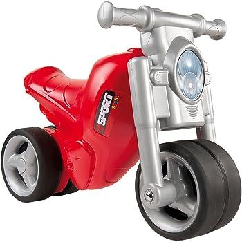 3301928c2372 Smoby - 770119 - Porteur Moto Enfant - Roues Silencieuses - Véhicule Enfant  - Rouge