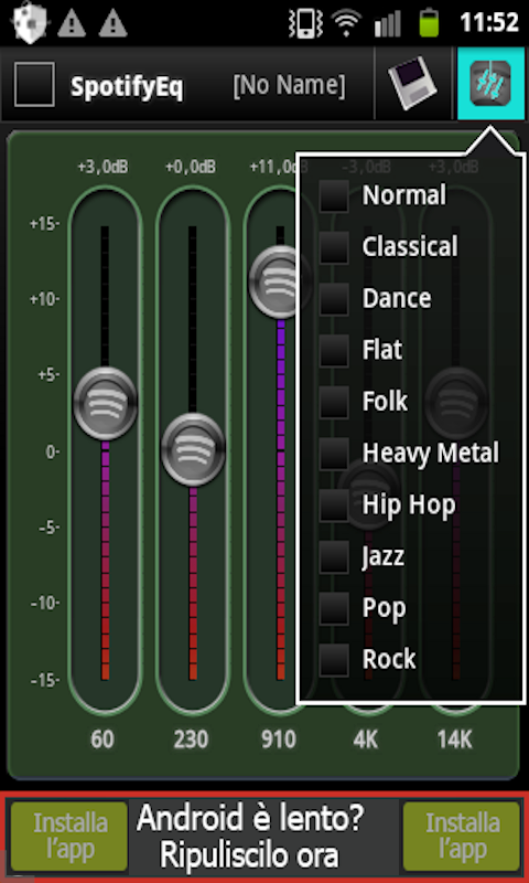 Equalizer for Spotify Control: Amazon co uk: Appstore for Android