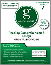 Reading Comprehension & Essays GRE Strategy Guide, 2nd Edition (Manhattan GRE Preparation Guide: Reading Comprehension & Essays)