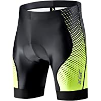 XGC Men's Cycling Shorts/Bike Shorts and Cycling Underwear with High-Density High-Elasticity and Highly Breathable 4D…