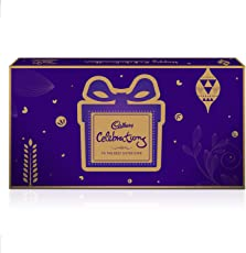 Cadbury Raksha Bandhan Digitally Augmented Assorted Chocolate Gift Box – Brother to Sister, 393 gm
