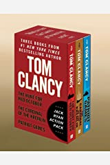Tom Clancy's Jack Ryan Action Pack: The Hunt for Red October/The Cardinal of the Kremlin/Patriot Games Paperback