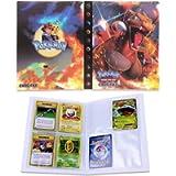 Porta Carte Pokemon, Raccoglitore Carte Pokémon, Album per Carte Pokemon GX, può ospitare 120 Carte a Caricamento…