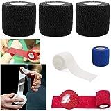 SAFETAPE Sport Tape Bendaggio coesivo Auto Aderente Benda coesiva flextape Supporto Sportivo per Crossfit Sollevamento Pesi h
