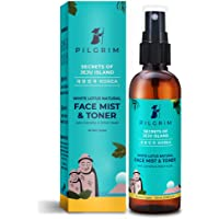 Pilgrim Alcohol Free Face Toner, Face Mist For Pores Tightening, Glowing Skin, Dry, Oily, Combination, Acne Skin, Korean…