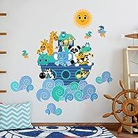 Forma Tridimensionale in Feltro di Lana Decorativo da Parete per Camera dei Bambini Robust S-tubit Decorazione murale Testa di Animale