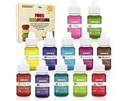 Colorant alimentaire liquide concentré Nourriture Dye 12 couleurs