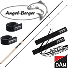 DAM Spezi Stick Angelrute alle Modelle mit Angel Berger Rutenband