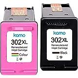 Kamo 302XL Cartucce Multipack Compatibile Con HP 302 o 302XL Cartucce di Inchiostro, OfficeJet 3830 3831 3833 4650 4657; Desk
