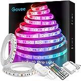 Govee Tira LED 10 Metros, Impermeable Luces LED Habitacion RGB con IR Remoto de 44 Botones& Caja de Control, Modo de Escena,