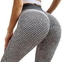 BOTRE Leggins Sportivi Donna Push Up Pantaloni Vita Alta Fitness Running Palestra Corsa Yoga Leggings Jogging Pants