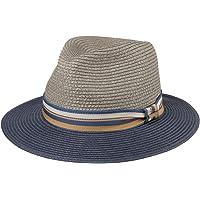 Stetson Cappello di Paglia Romaro Toyo Uomo - Traveller Estivo Cappelli da Spiaggia con Nastro in Grosgrain Primavera…