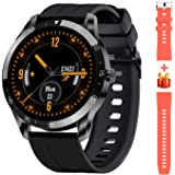 Blackview X1 Smartwatch Uomo Donna Orologio Fitness Impermeabile 5ATM Smart Watch Cardiofrequenzimetro da Polso Contapassi Sm