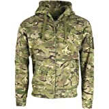 Mens Army Combat Military Tactical BTP Camo Spec-Ops Hoodie Hooded Top