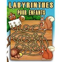 Labyrinthe Pour Enfants: Jeux labyrinthes à découvrir , Cahier d'activités pour enfants