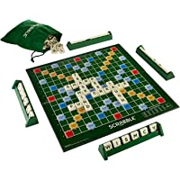 ASHICHIPRO Presents Crossword Scrabble Board Game Big Size Spelling Game for Kids & Adult Multi-Player Board Game for…