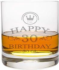Whiskeyglas Leonardo mitHappy Birthday Gravur - Geburtstag Geschenk Geschenkidee Whisky-Glas graviert