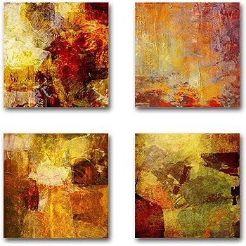 Feng Shui Bilder Set A Schwebend 4 Teiliges Bilder Set Jedes Teil