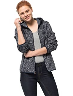 Jack Wolfskin Damen Belleville Jacke Schwarz All Over