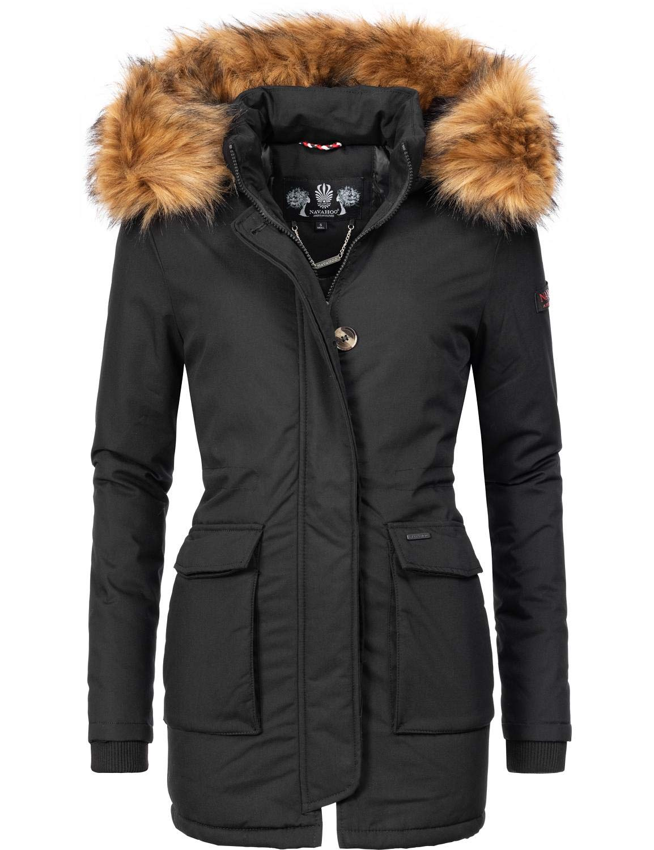 Navahoo Damen Winterjacke Wintermantel Schneeengel-Prc 5 Farben XS-XXL