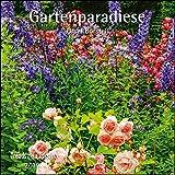 Gartenparadiese 2019 - Broschürenkalender - Wandkalender - mit herausnehmbarem Poster - Format 30 x 30 cm