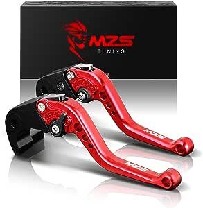 MZS nero frizione freno corto Leve per Ducati Hypermotard 1100//S//EVO SP 2007-2012