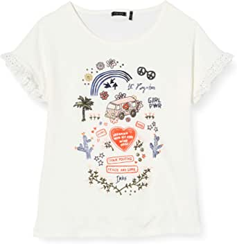 IKKS Junior Tee-Shirt Hippie Imprimé T Bambina