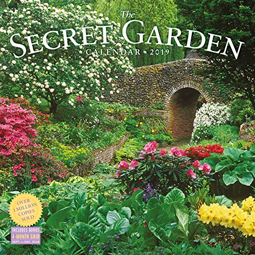 2019 the Secret Garden Wall Calendar