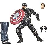 Marvel Legends Series Gamerverse Figura de acción Coleccionable Stealth Capitán América de 15,24 cm, para niños de 4 años en