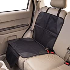 SUNPIE Kindersitz Elite duomat für Autositz , Autositz -Schutz von Drive RUTSCH, SICHER, DURABLE Schwarz Schmutzabweisend und universell passend