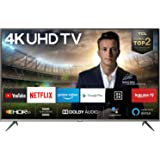 TCL 50EP640 Fernseher 126 cm (50 Zoll) Smart TV (4K UHD, HDR 10, Triple Tuner, Android TV, Micro Dimming, Prime Video, Alexa