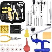 Tool Kit di Riparazione Orologi Professionale Strumento di Riparazione Portable Set Orologiaio Attrezzi di Apertura kit…
