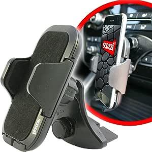 Scozzi Handyhalterung Auto Cd Schlitz Einschub Fach Handy Kfz Halterung Halter Universal