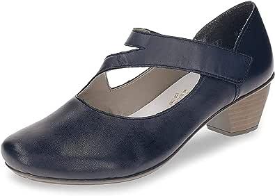 Rieker 43702 01 Schuhe Damen Spangenpumps schwarz