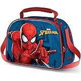 KARACTERMANIA Spiderman Versus-Borsa Porta Pranzo 3D Multicolore