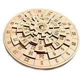 LOGICA GIOCHI Art. Euclide - Rompicapo Matematico in Legno - Difficoltà 4/6 Estremo