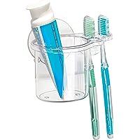 InterDesign, Compartiment de douche à ventouse pour le shampooing, revitalisant, savon