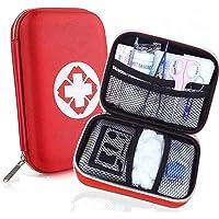 Erste Hilfe Set - Perfekt für Wandern, Outdoor, Fahrrad, Sport und Reisen - First Aid Kit und Reiseapotheke mit BONUS…