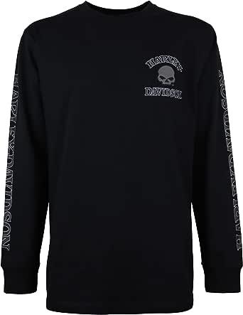Harley Davidson Langarmshirt Skull Bekleidung