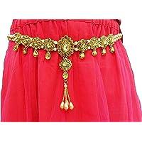 Toy World Antique Gold Ethnic Waist Hip Belt Kamarband for Women