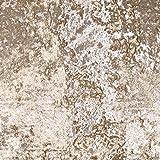 Pannesamt Vorhang & Polsterstoff (Panther) - Champagner /