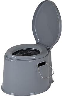 Camping Toilette tragbare mit Sitz /& Deckel Komposttoilette Indoor-und Outdoor Klo /Ältere//Schwangere Frau