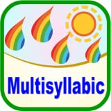 Multisyllabic with words, phrases and sentences for speech therapy and special education