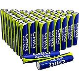 Batteria alcalina a elevate prestazioni CHiQ, confezione da 40, tipologia AAA/LR03, 1,5 volt, a multiuso 40ALR03
