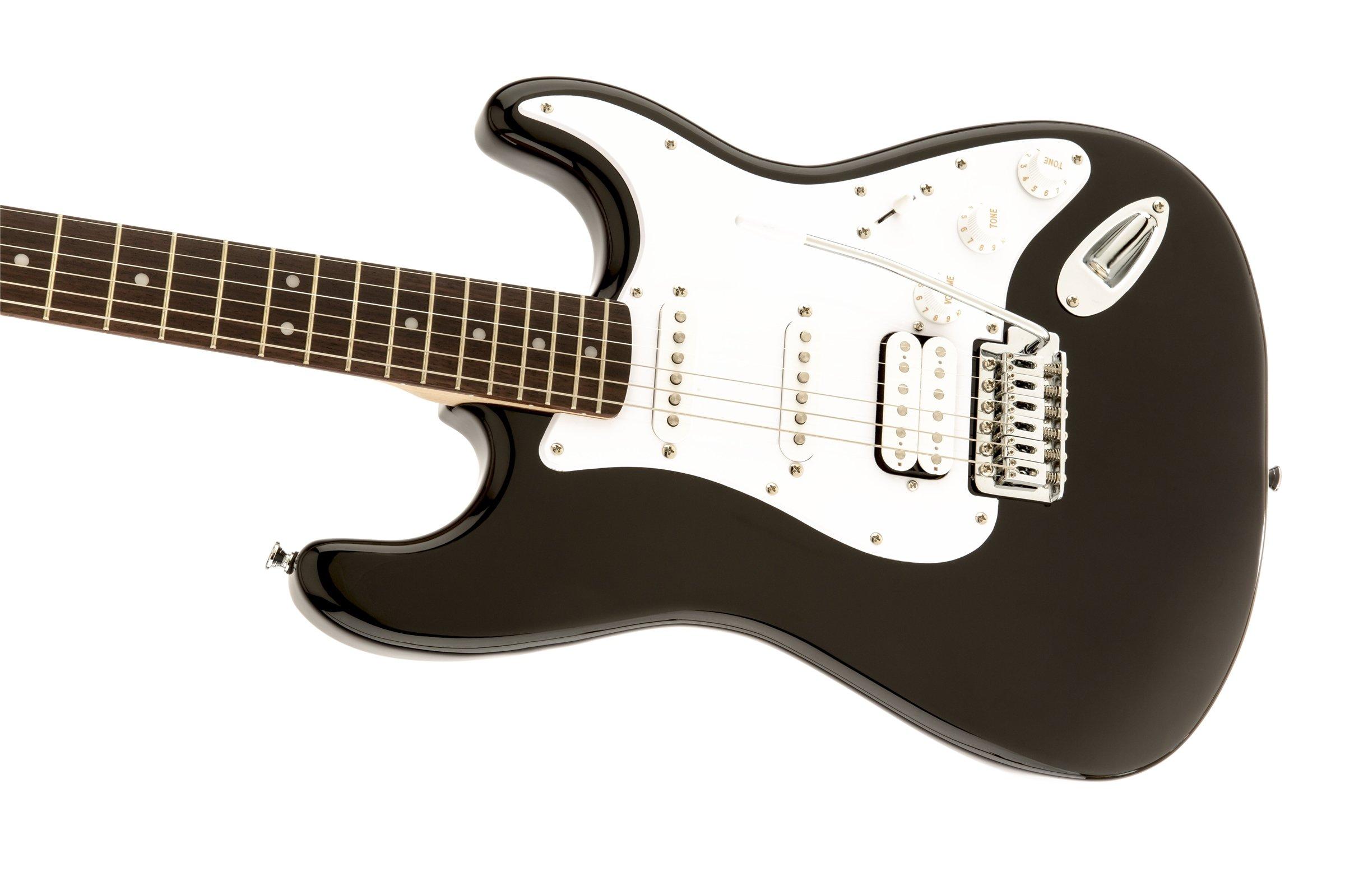 Chitarra Elettrica Fender Squier Stratocaster Bullet Black Nera